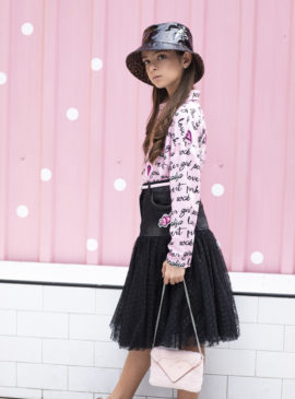 girl with shirt and skirt by Special clothing