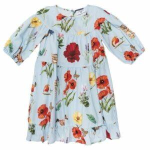 Poplin daisies dress