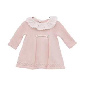 Baby pink dress by Foque