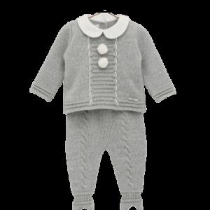 Gray babygrow by Foque