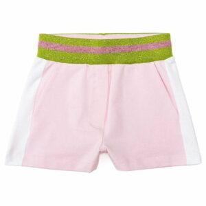 Lurex fleece shorts Monnalisa