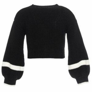 194622d Heart sweater monnalisa