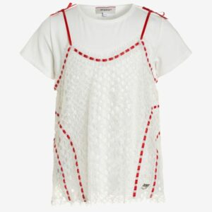 T-shirt with application Pinko