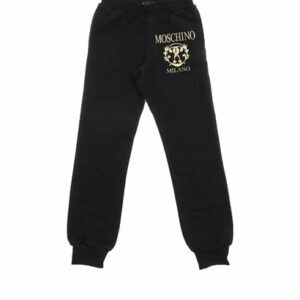 Roman Double Question black trousers
