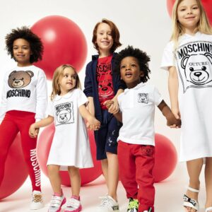 Moschino Kids Teddy Logo Set