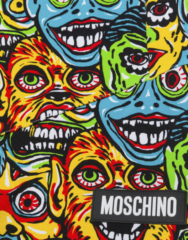 Moschino Monsters shorts