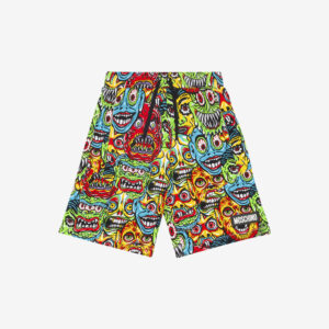 Moschino Kids Monsters shorts