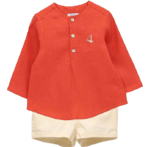 Boys Orange Set Foque