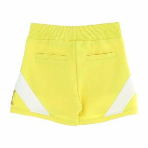 Fleece shorts w/ rhinestones & pearls