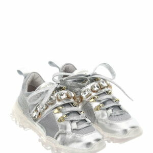 Monnalisa Kids Rhineston sneakers