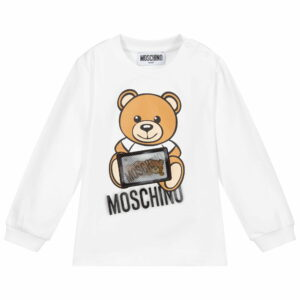 Moschino Kids Sweatshirt Hologram