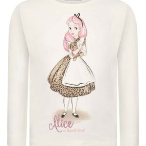 Monnalisa kids Alice T Shirt.