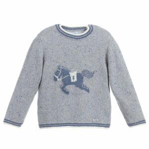 Foque Blue Horse Sweater
