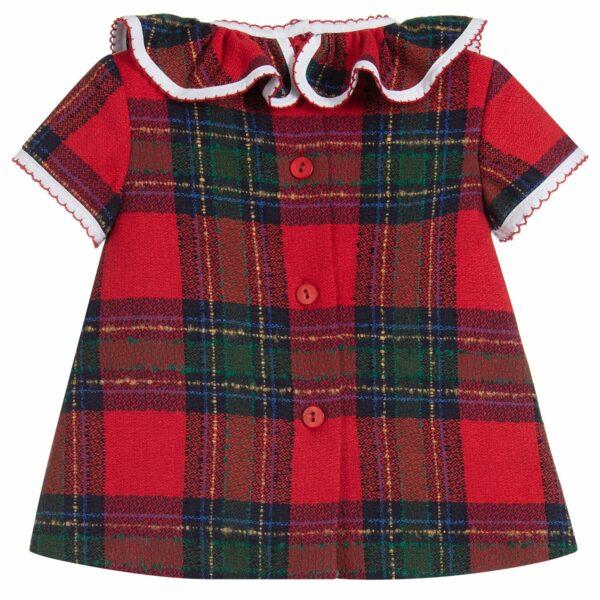Foque Tartan Dress Set