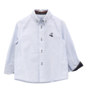 """Foque Classic Blue Shirt """"Abetos"""""""