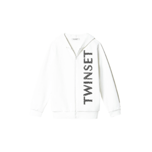 Twinset Kids Maxi Sweatshirt With Embroidery
