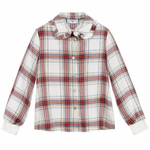 Monnalisa kids Check Disney Blouse