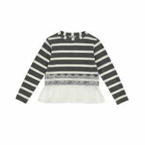 Monnalisa Kids Sweater w/ Lace