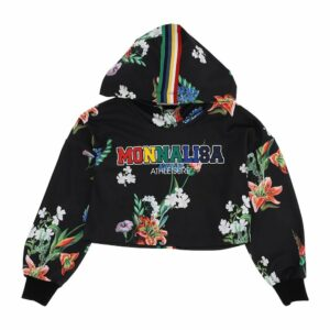 Monnalisa Kids Practical Cropped Sweatshirt