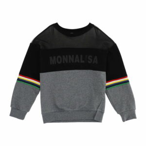 Monnalisa Kids Net-Effect Sweatshirt