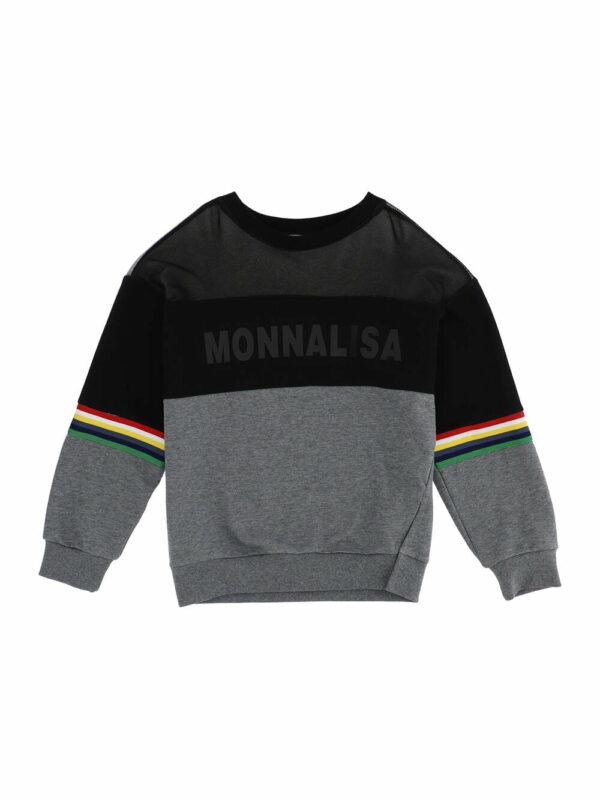 Monnalisa Kids Net-Effect Sweatshirt