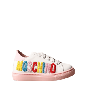 Moschino Kids Logo Trainers