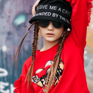 """Liujo Kids Sweatshirt """"Forever"""". Long-sleeved sweatshirt with round neckline. Rhinestone details on the front and light and delicate frills on the sleeves. Elasticated waist and cuffs for added comfort."""