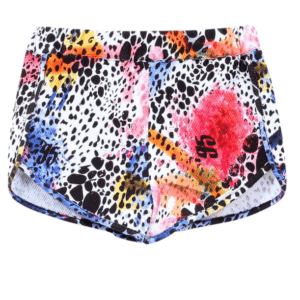 Liujo Kids Short Colorful Print. Sportwear cotton shorts, very practical. Can be combined with several Liujo t-shirts. The colorful animal print, gives it a very irreverent look.