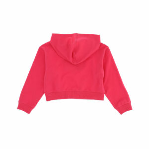 Chiara Ferragni Kids Eyelike Sweatshirt. Cropped and long sleeved closed sweatshirt, with stylish print signature 'Eyelike' logo. In a cropped design, it is made in soft cotton jersey and has a warm fleecy inside.